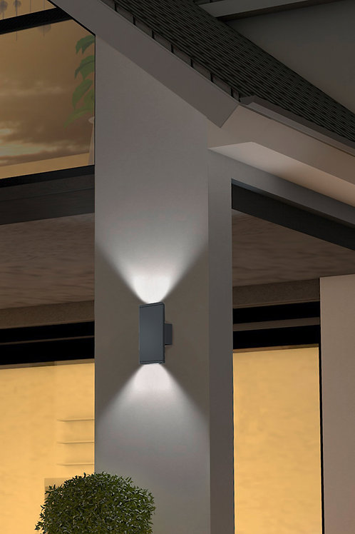 Design vegglampe svart - Colorado