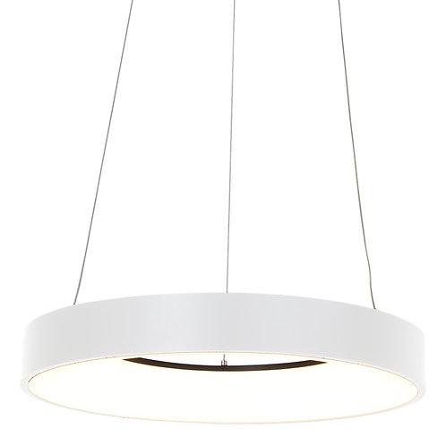 Design hengelampe LED hvit - Ringlede