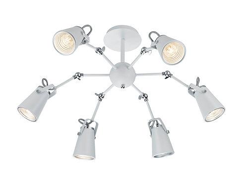 Design taklampe hvit - Edward