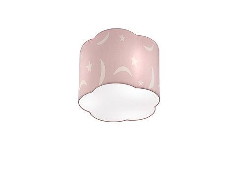 Taklampe rosa - Moony