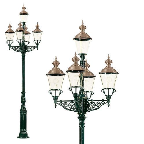Klassisk hagelampe kobber - Monaco