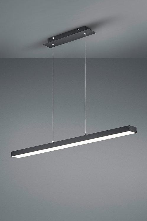 Hengelampe svart LED - Agano