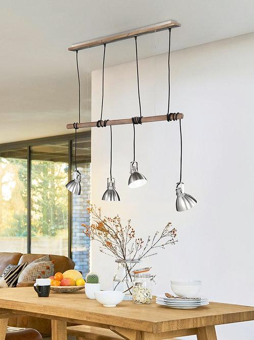 Design hengelampe - Timber