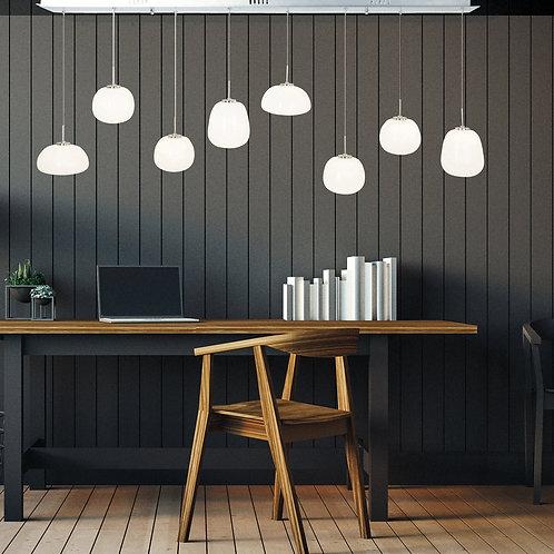 Hengelampe hvit LED - Essen