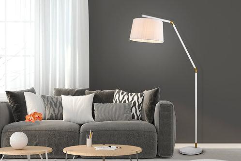 Design gulvlampe hvit - Tracy