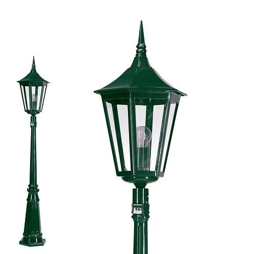 Klassisk hagelampe grønn - Saltdal
