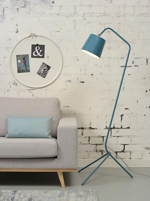 Design gulvlampe blå - Barcelona