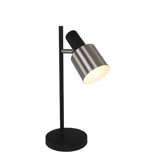 Industriell bordlampe svart - Fjorgard