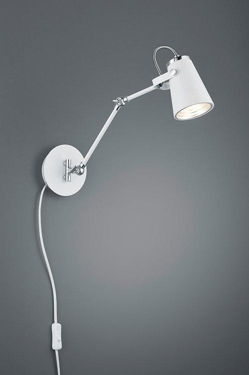 Design vegglampe hvit - Edward