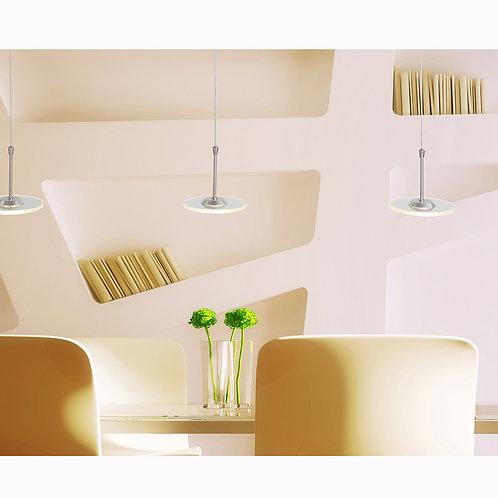 Hengelampe stål LED - Santander II