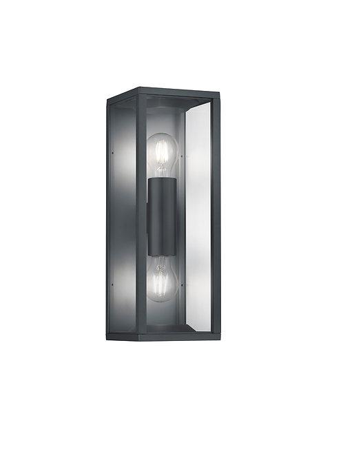 Vegglampe svart - Garonne II