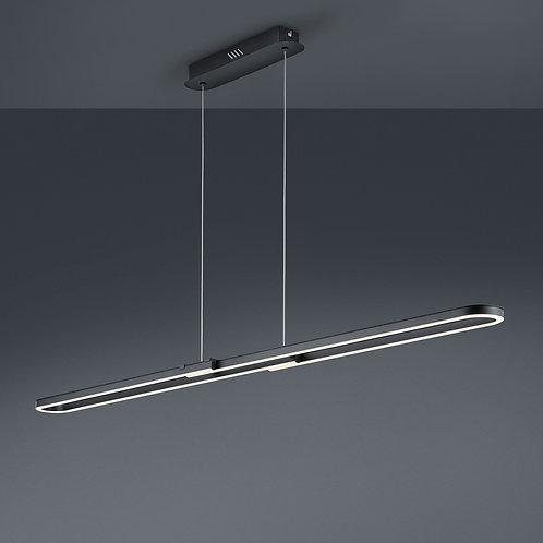 Design hengelampe svart 120-150 cm LED - Romulus