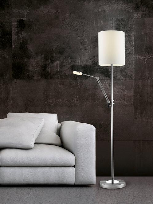 Design gulvlampe hvit dimbar LED - Varese