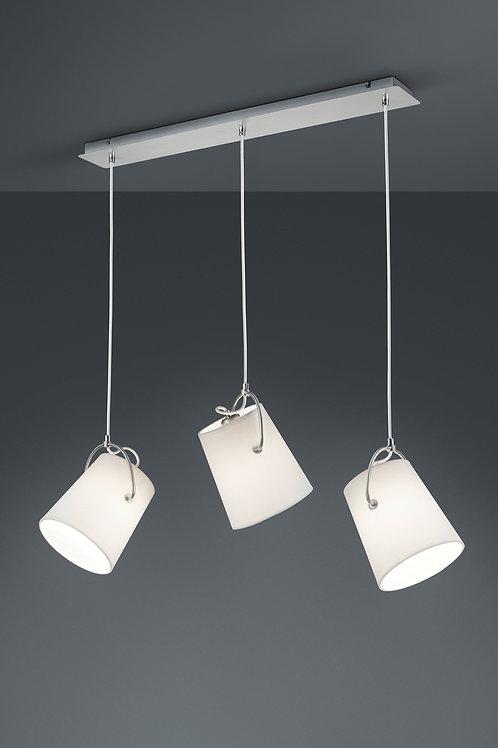 Design hengelampe hvit - Meran 3