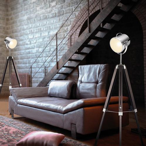 Industriell gulvlampe Tripod - Antwerp