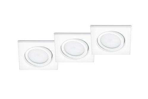3 spotter hvit - Rila