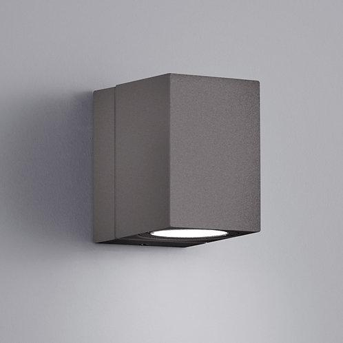 Vegglampe antrasitt LED - Tiber