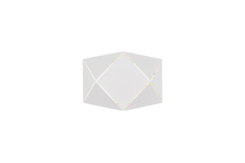 Design vegglampe hvit - Zandor