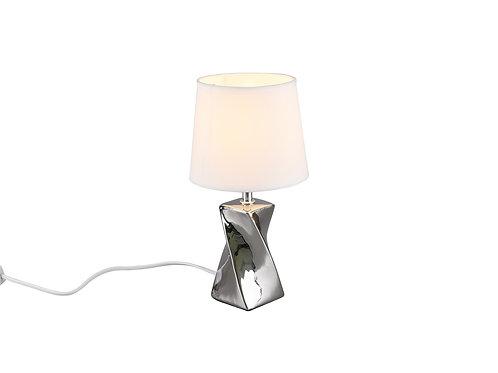 Bordlampe sølv - Abeba