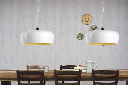 Design hengelampe hvit - Hanoi