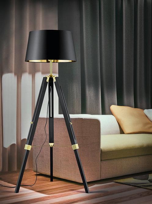 Design Gulvlampe Tripod svart - Gent