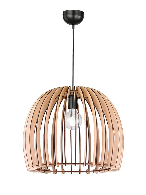 Design hengelampe - Wood 50