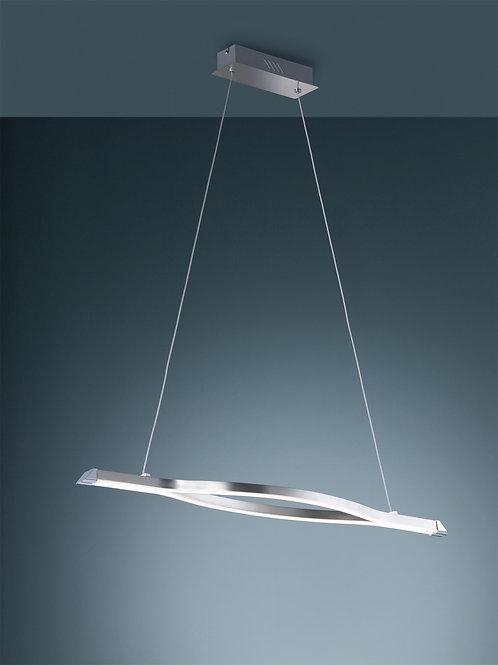 Design hengelampe stål/hvit - Remus