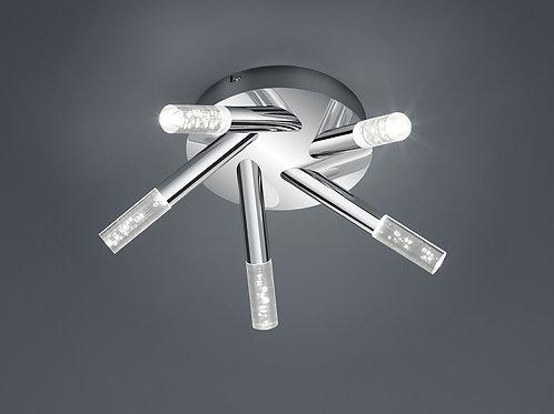Taklampe krom LED - Bolsa