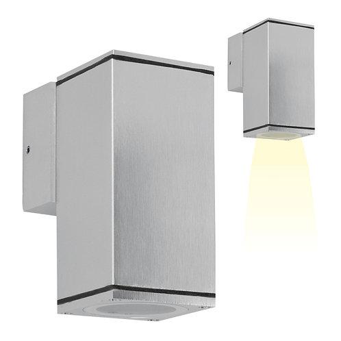 Vegglampe aluminium - Kelvin down