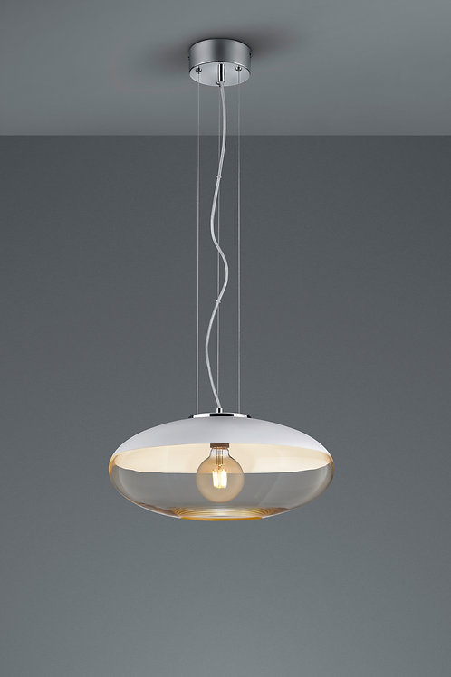 Design hengelampe hvit - Porto 40