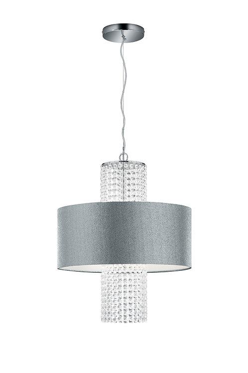 Design taklampe grå - King II