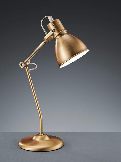 Bordlampe antikk messing - Jasper