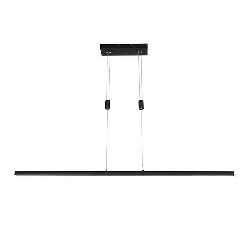 Hengelampe svart LED - Litho