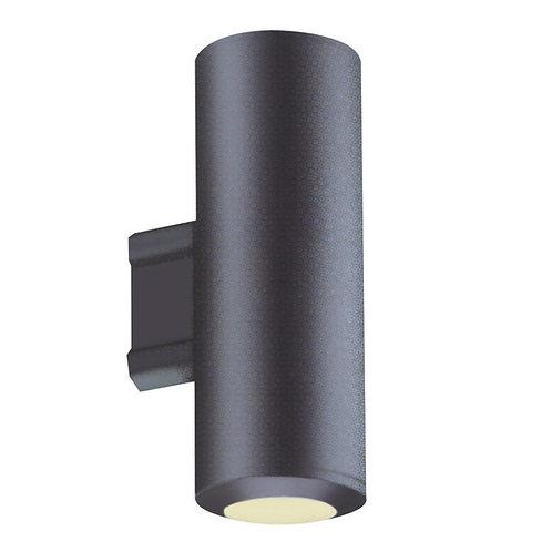 Vegglampe svart - Rollag up & down
