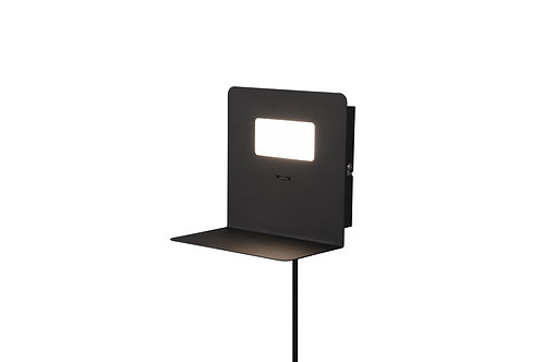 Vegglampe svart - Aloft