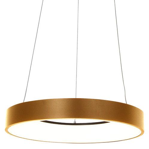 Design hengelampe LED gull - Ringlede
