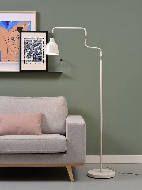 Design gulvlampe hvit - London