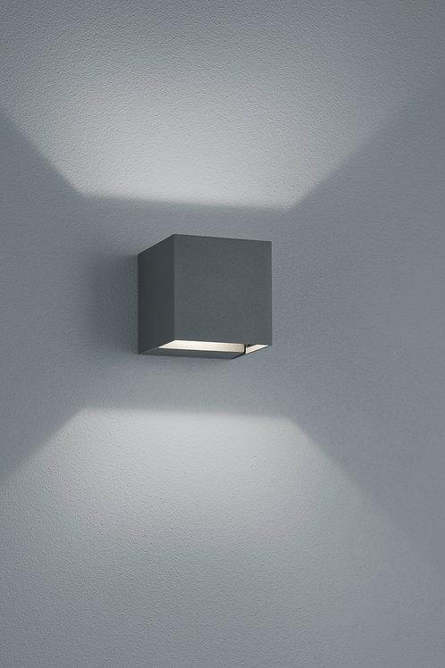 Vegglampe svart LED - Adaja