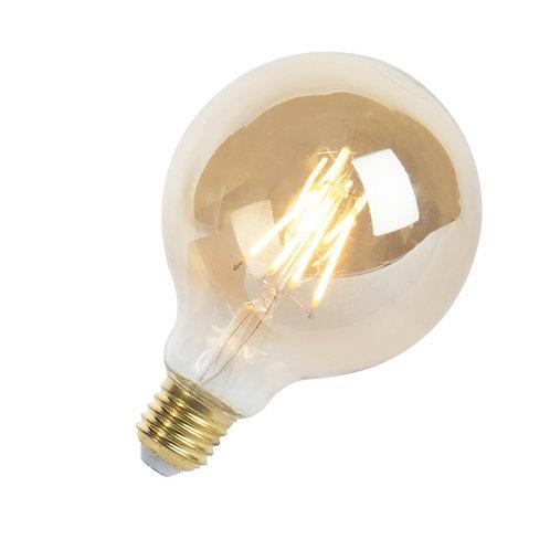 LED Goldline lyspære E27 5W 360LM G95 dimbar