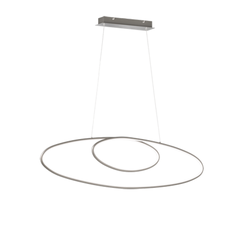 Design hengelampe stål - Avus