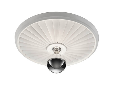 Taklampe hvit - Iris II
