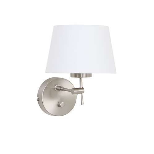 Vegglampe hvit - Gramineus