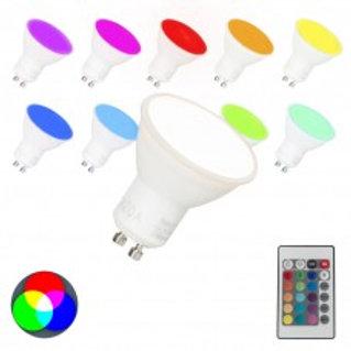 LED GU10 3.5W RGBW