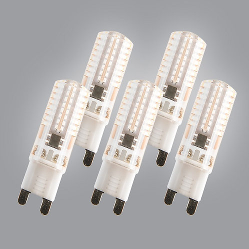 G9 LED 3W 200 lumen 5 stk