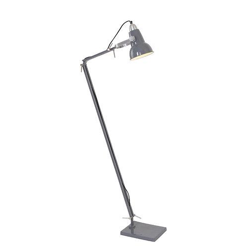Industriell gulvlampe grå - Rorbu