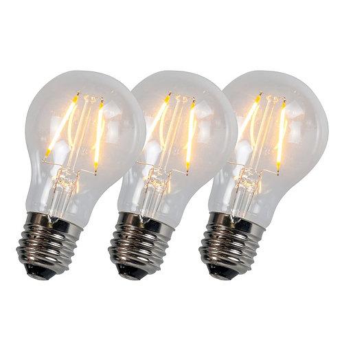 LED A60 2W 2200K 3 stk