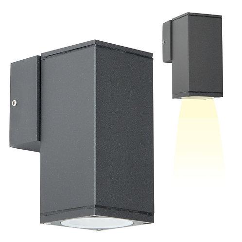 Vegglampe grå - Kelvin down