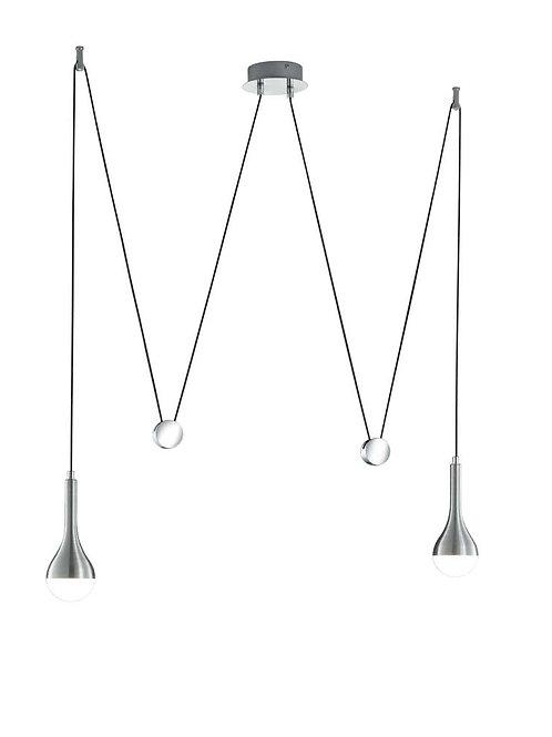 Design hengelampe aluminium - Drops