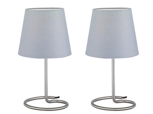 Bordlampe grå - Twin