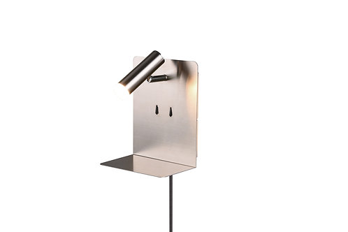 Vegglampe nikkel - Element
